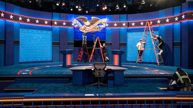 USA: debata między kandydatami na prezydenta USA. Wśród tematów sprawy rasowe