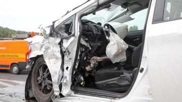Wypadek z udziałem taksówki. Zginął pasażer