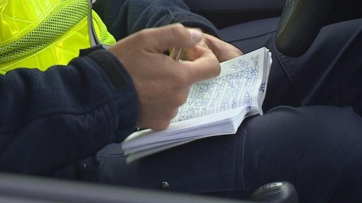 Przepadł policyjny notatnik. Dane kilkudziesięciu osób zagrożone