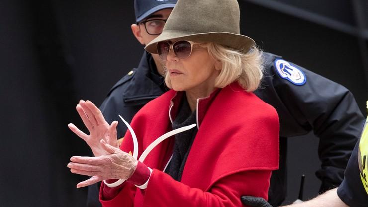 Jane Fonda aresztowana po raz czwarty