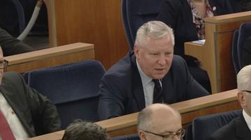 """Senator wykluczony z PiS startuje z komitetu Zjednoczona Prawica. """"Podszywa się"""""""