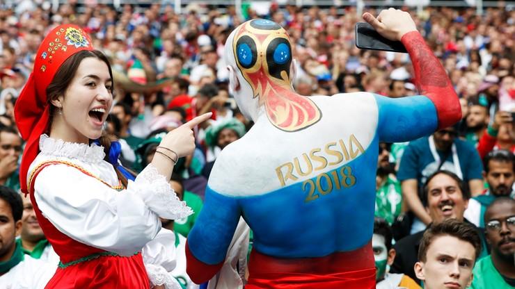 MŚ 2018: Rosjanie się cieszą, ale głośniejsi są Latynosi