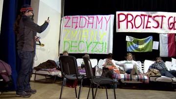 Rzecznik rządu: zakończył się protest mieszkańców Dobrzenia Wielkiego