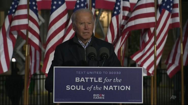 Wybory w USA. Wiemy, kto finansował kampanię Bidena