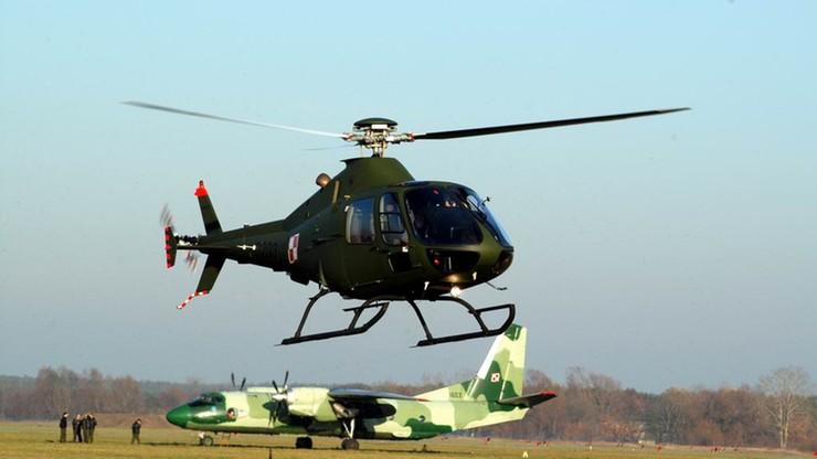 Wypadek wojskowego śmigłowca w Dęblinie. Dwaj piloci w szpitalu