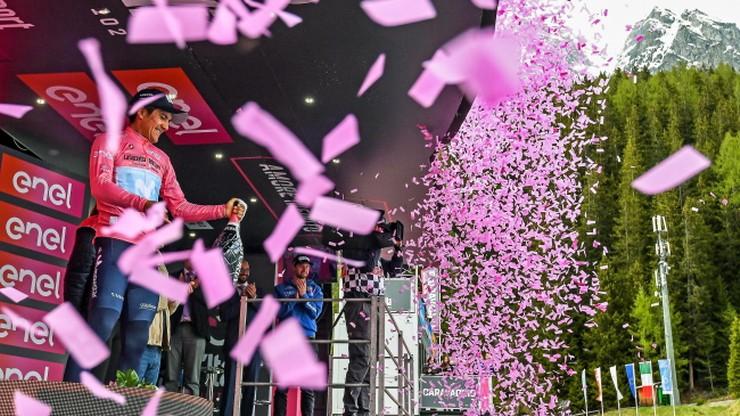 Giro d'Italia: Bilbao wygrał 20. etap. Carapaz blisko końcowego triumfu