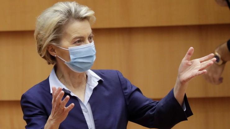 Szefowa KE podała termin ws. szczepienia przeciw COVID-19 w UE