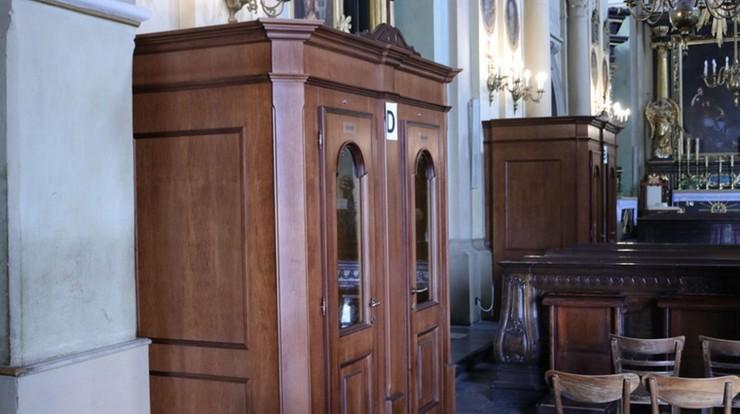W Kalwarii Zebrzydowskiej zainstalowano klimatyzowane konfesjonały