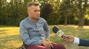 """""""Kopnął mnie, wpadłem do rowu"""". Mistrz Polski w kolarstwie ręcznym zaatakowany podczas treningu"""