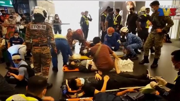 Czołowe zderzenie pociągów metra w Malezji. Ponad 200 osób rannych