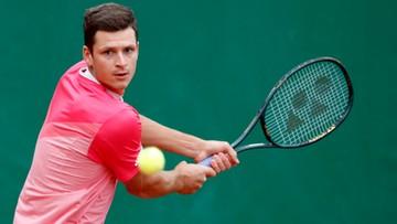 """ATP w Monte Carlo: Hurkacz w drugiej rundzie. To była """"droga przez mękę"""""""