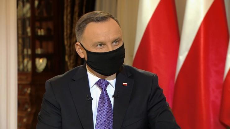 Andrzej Duda zaszczepiony. Poinformował, jak się czuje