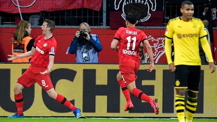 Bundesliga: Szalony mecz Bayeru z Borussią. Siedem goli!
