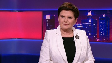 Szydło w Polsat News: chcemy budować Polskę i Europę silną wartościami