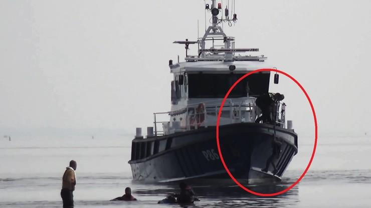 11-latek z Polski utknął na falochronie w Holandii. [NAGRANIE Z AKCJI RATUNKOWEJ]