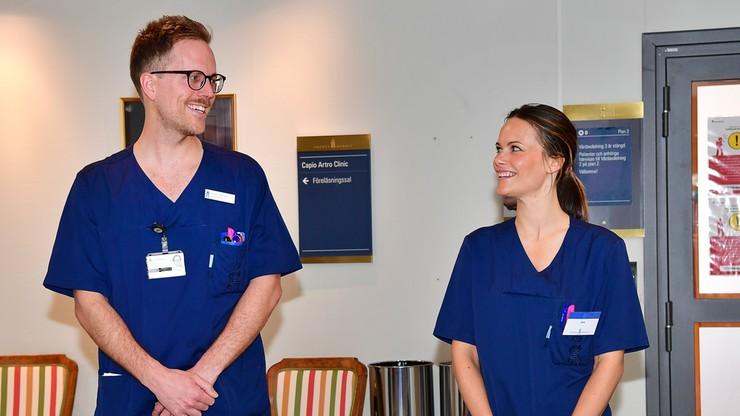 Księżna zaczęła pracę w szpitalu. Chce pomóc lekarzom walczącym z epidemią