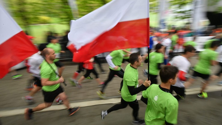 Bieg Konstytucji w Warszawie: Limit miejsc prawie wyczerpany