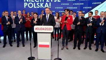 Andrzej Duda przedstawił swój sztab wyborczy