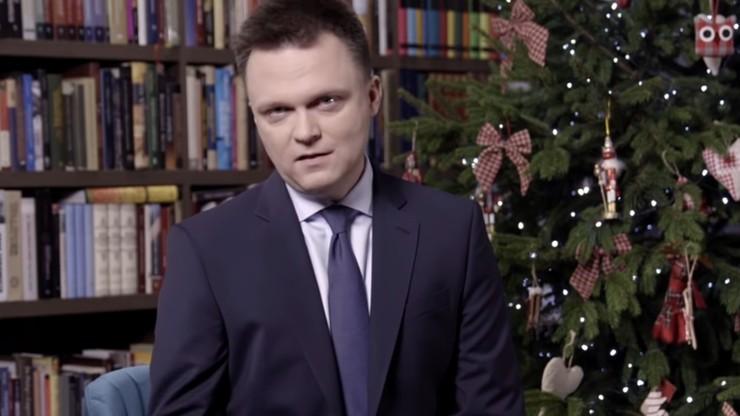 Świąteczne wystąpienie Szymona Hołowni. Ujawnił, kiedy przedstawi program