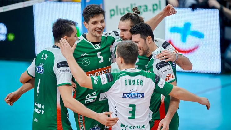 Puchar CEV: Indykpol AZS Olsztyn pokonał PAOK Saloniki