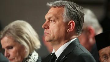 Orban: ma znaczenie, że Trump przemawiał właśnie w Polsce