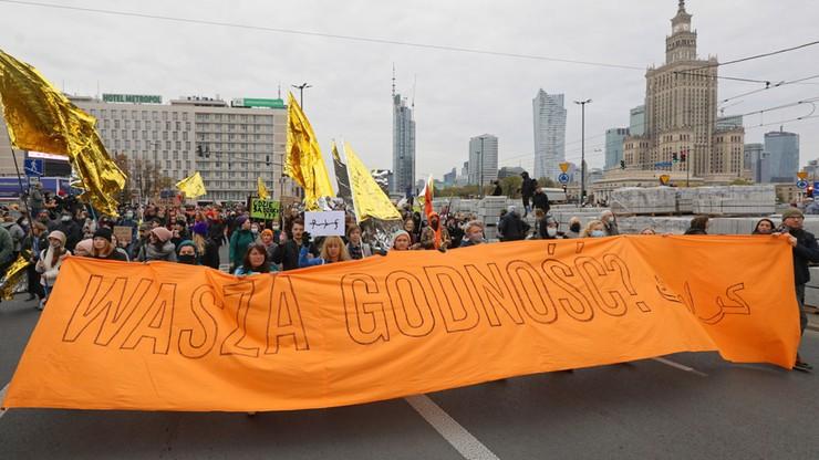 """Manifestacja w Warszawie. """"Stop torturom na granicy"""""""