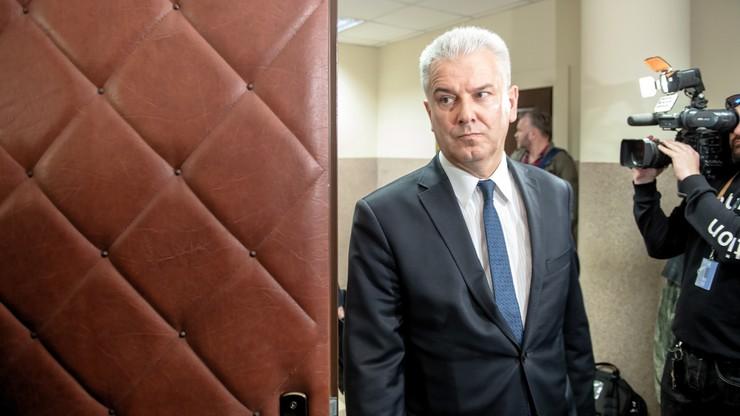 Rozpoczął się proces b. ministra sprawiedliwości C. Grabarczyka dot. pozwolenia na broń