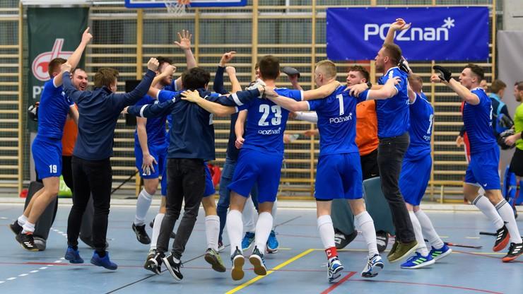 Superliga hokeja halowego: AZS AWF Poznań po raz pierwszy mistrzem Polski