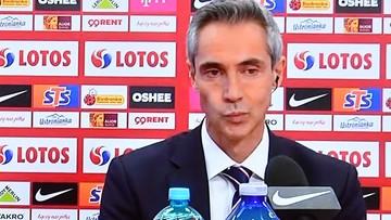 Paolo Sousa podał skład reprezentacji Polski. Są niespodzianki