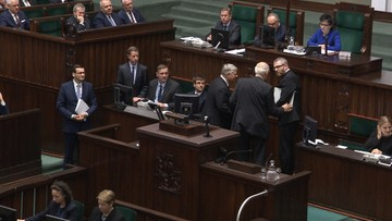 Braun opóźnił exposé premiera. Interweniowali Suski i Korwin-Mikke