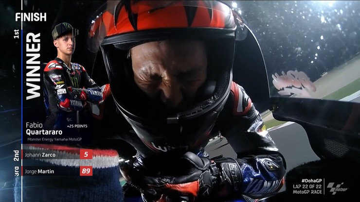 MotoGP: Dublet Francuzów w Grand Prix Doha