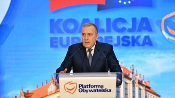 Schetyna: w przyszłym tygodniu wniosek PO o wotum nieufności wobec szefowej MEN
