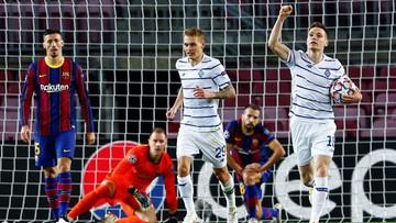 Liga Mistrzów: FC Barcelona skromnie wygrała z osłabionym Dynamem Kijów