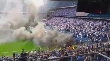29 osób usłyszało zarzuty po meczu Lech-Legia. Kibice manifestują przed aresztem