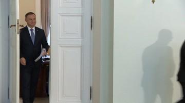 Prezydent: ataki na mnie pochodzą głównie z jednego środowiska - koalicjantów PiS