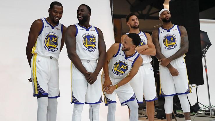 NBA: Warriors ponownie faworytami bukmacherów