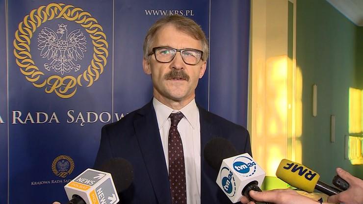 """""""KRS nie przestanie powoływać sędziów"""". Przewodniczący Rady po wyroku Izby Pracy"""