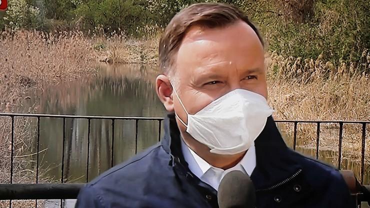 """""""Mamy problem"""". Prezydent o retencji wody w Polsce"""