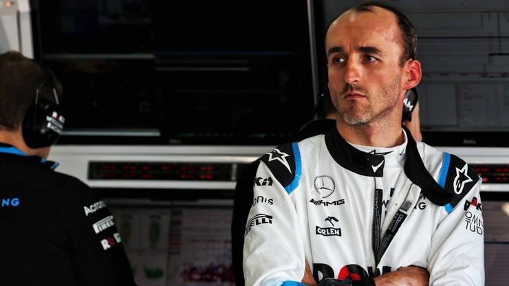 GP Węgier: Kubica ostatni na trzecim treningu. Hamilton z rekordem toru