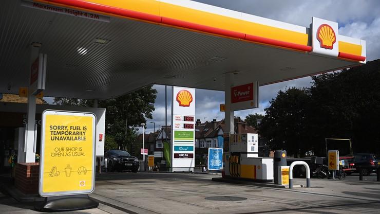 Wielka Brytania. Rzecznik Shell: zaczyna brakować niektórych rodzajów paliw