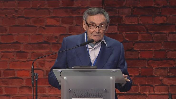 """Były więzień Auschwitz zaapelował do młodych. """"Nie bądźcie obojętni"""""""