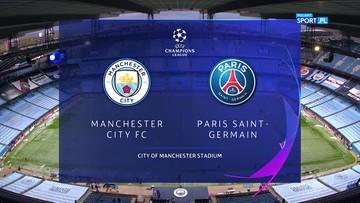 Manchester City - PSG 2:0. Skrót meczu