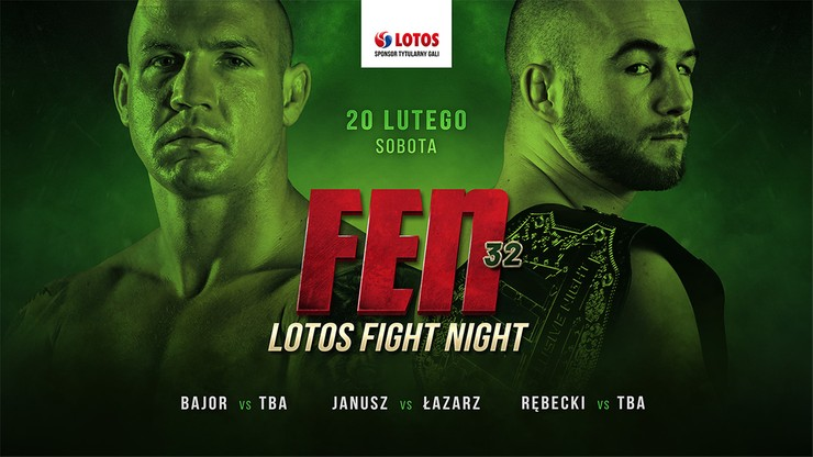 Nowy termin gali FEN 32: LOTOS Fight Night