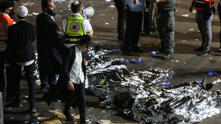 Tragedia w Izraelu. Co najmniej 44 osoby zginęły stratowane przez tłum