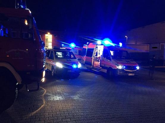 50-letni kierowca ciężarówki w stanie szoku trafił do szpitala