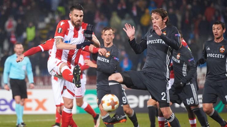 Liga Europy: Remis w starciu Crvena Zvezda Belgrad - CSKA Moskwa