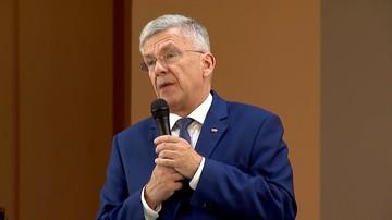 """Karczewski przeprosił za wypowiedź o """"świrach"""""""