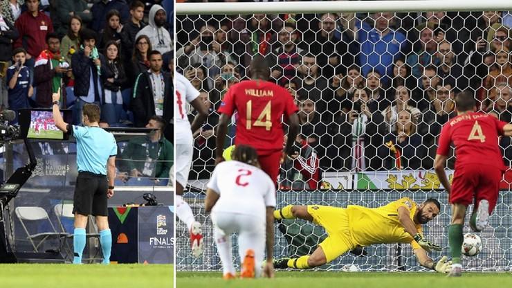 """Sędzia podyktował rzut karny dla Portugalii, a po chwili dla Szwajcarii. """"Tego jeszcze nie było"""""""