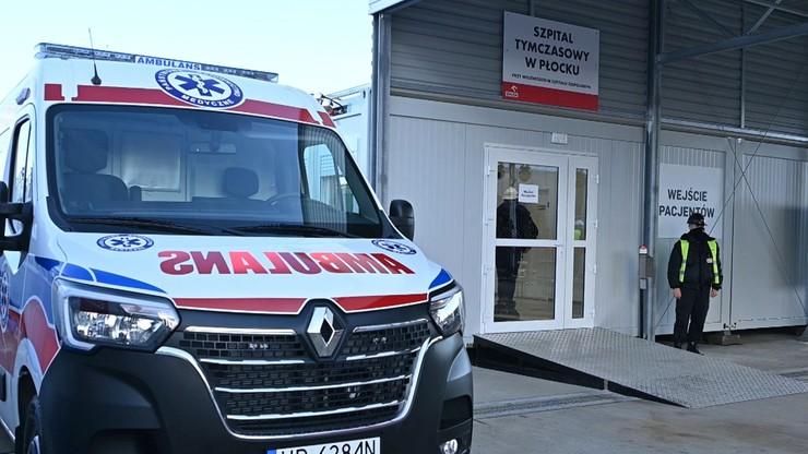 Kolejny szpital tymczasowy gotowy. Wybudował go w Płocku PKN Orlen