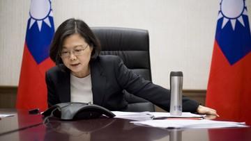 Trump wzburzył Chińczyków. Rozmawiał z prezydent Tajwanu